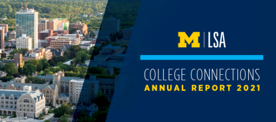 College Connections 2015 Annual Report