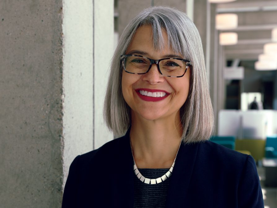 A photograph of LSA interim dean Elizabeth Cole