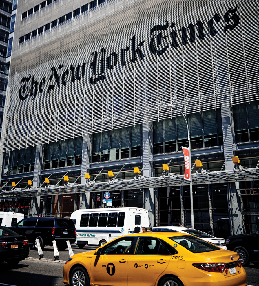 The New York Times office building