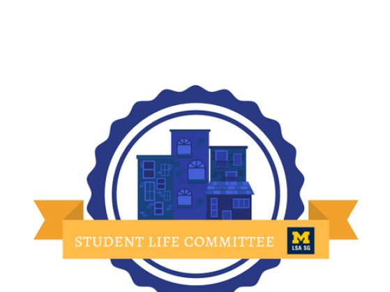 logo for the Student Life Committee