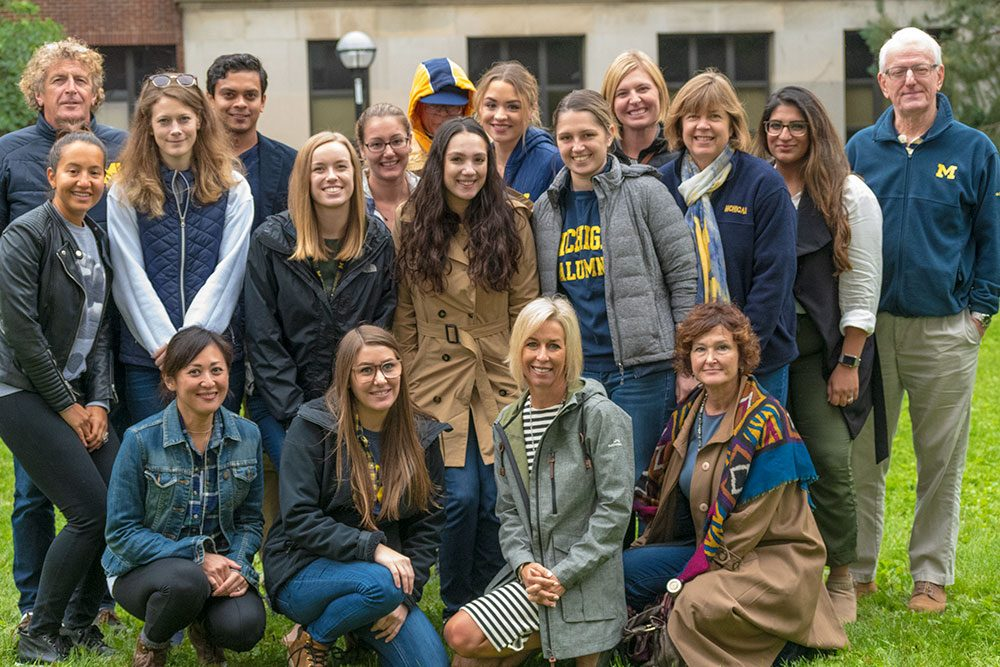 Psychology Alumni at the 2018 Homecoming Picnic