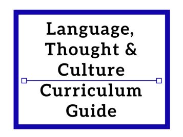 Language, Thought & Culture