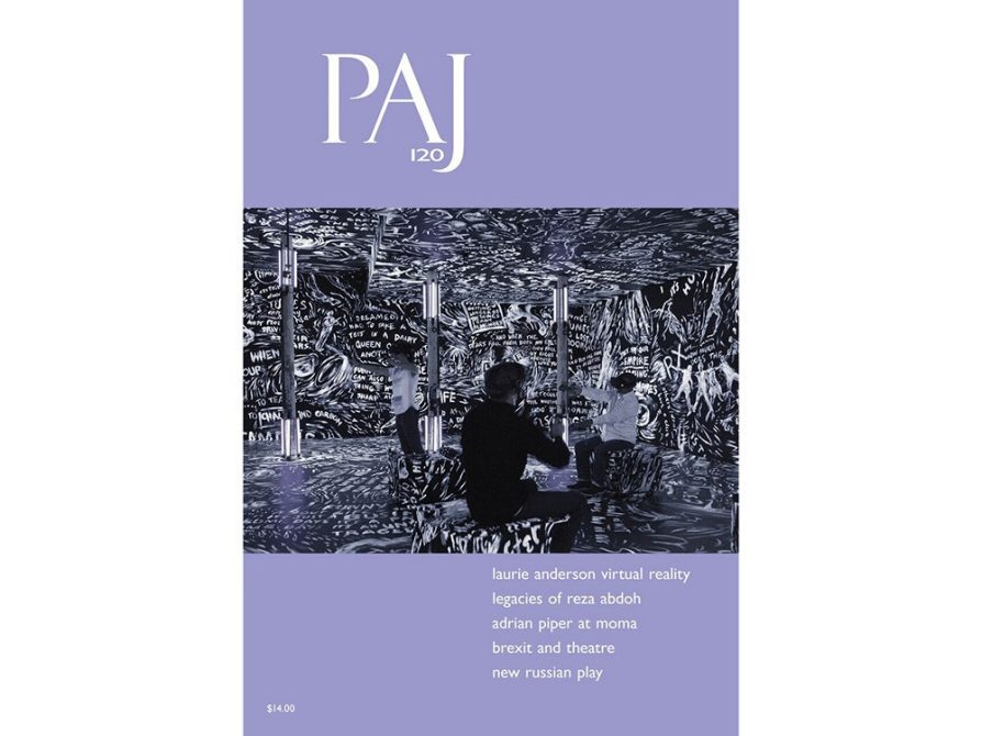 cover of PAJ: A Journal of Performance and Art Volume 40 | Issue 3 | September 2018
