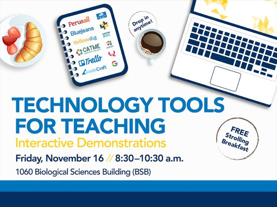 Technology Tools Event Flyer