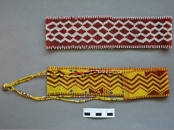 145 beadwork 26739 (red) and 26741 (yellow)
